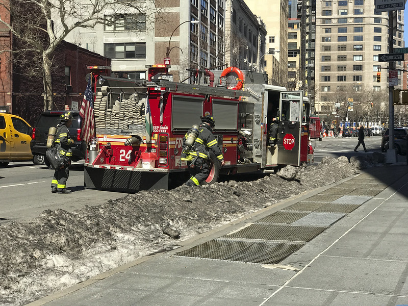 That feeling when the FDNY is at your office.