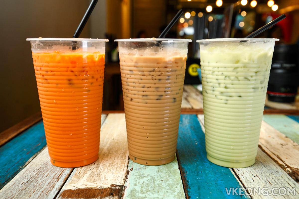 The Porki Society Thai Milk Tea Coffee Green Tea