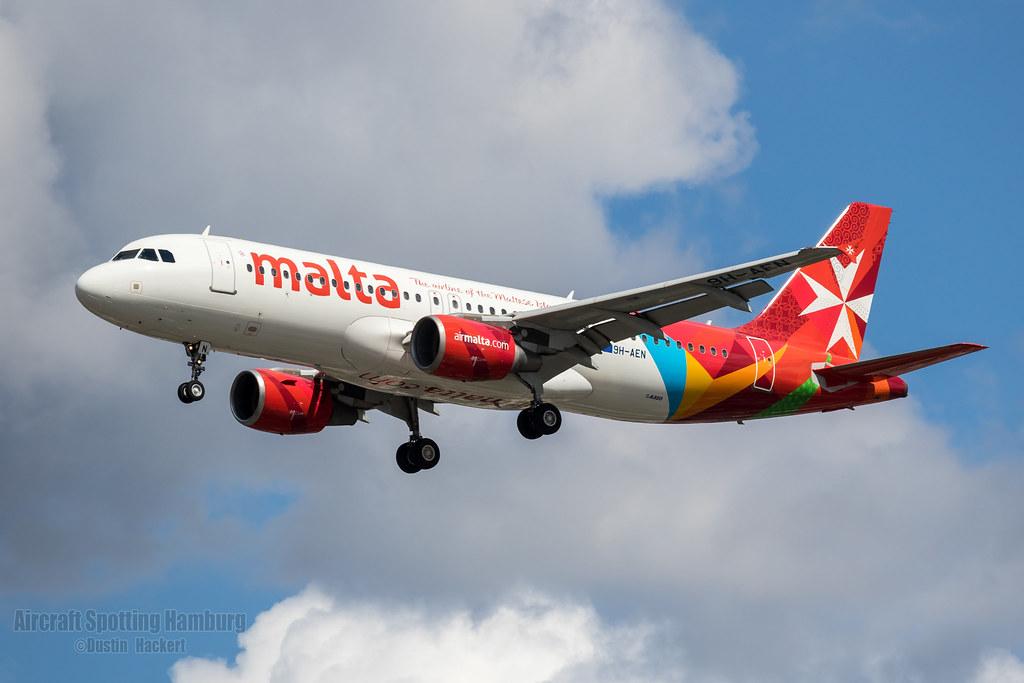 Air Malta Airbus A320 9H-AEN