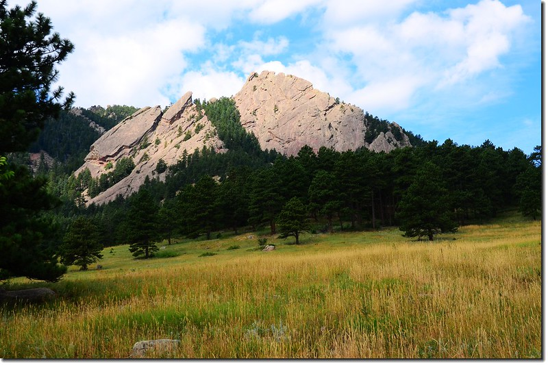 Flatirons from Bluebell Road 3