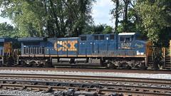 """CSX AC4400AH 5107 """"W. Thomas Rice Special"""""""