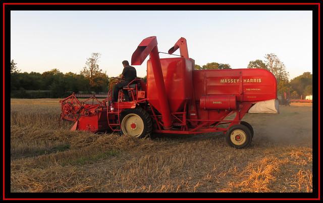 Massey Harris Combined Harvester 2