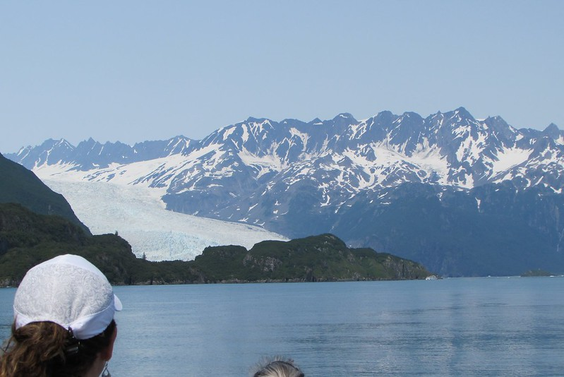 Aialik Glacier from a distance