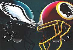 Eagles vs Redskins NFL on FOX Sept. 10, 2017