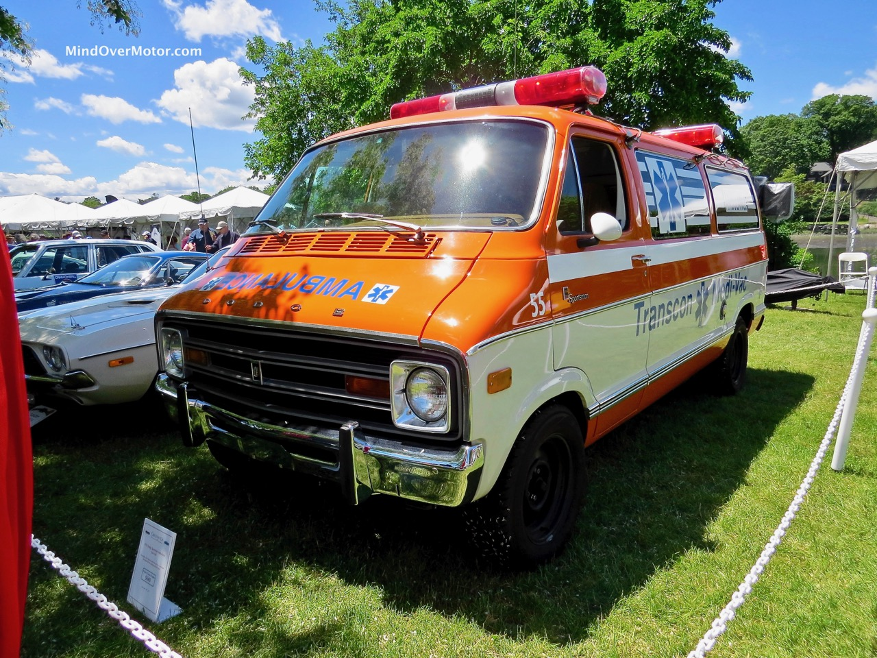 Dodge Ambulance Front