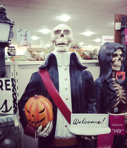 Halloween at Home Goods