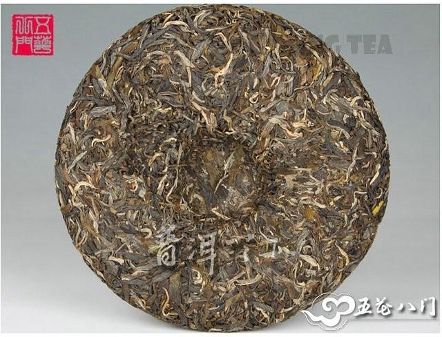 Free Shipping 2012 ChenSheng Beeng Cake Bing LaoBanZhang 500g YunNan MengHai Organic Pu'er Raw Tea Sheng Cha Weight Loss Slim Beauty
