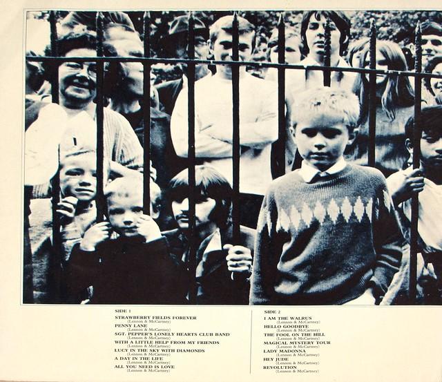 "BEATLES 1967-1970 (Blue Album Cover) 2nd Pressing Gatefold 12"" MAXI-SINGLE / LP VINYL"