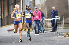 Eva Vrabcová v Ústí zaběhla svůj druhý nejrychlejší půlmaraton, český rekord odolal