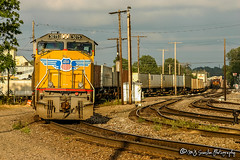 UP 5075 | EMD SD70M | UP Memphis Subdivision
