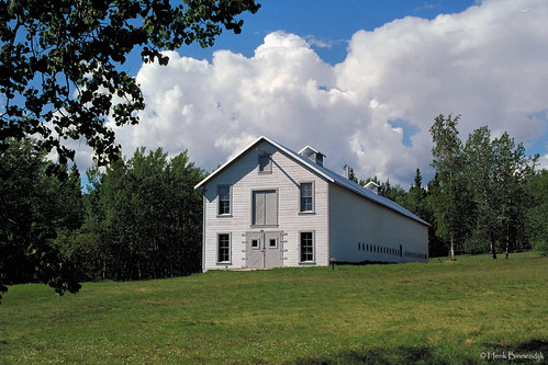 Alaska: Eagle, Fort Egbert mule barn