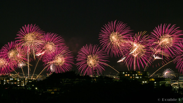 distant view of Biwako Fireworks Festival 2017 (19)