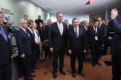 С.В.Лавров и Ш.М.Мерзоев   Sergey Lavrov & Shavkat Mirziyoyev