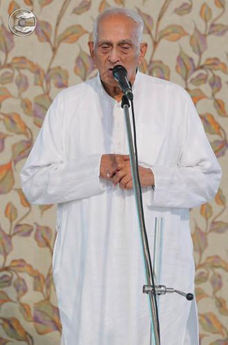 Vice-President SNM, D.R. Bajaj from Bengaluru, Karnataka