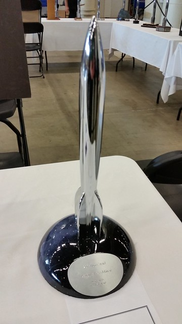 2017 Hugo Award Trophy