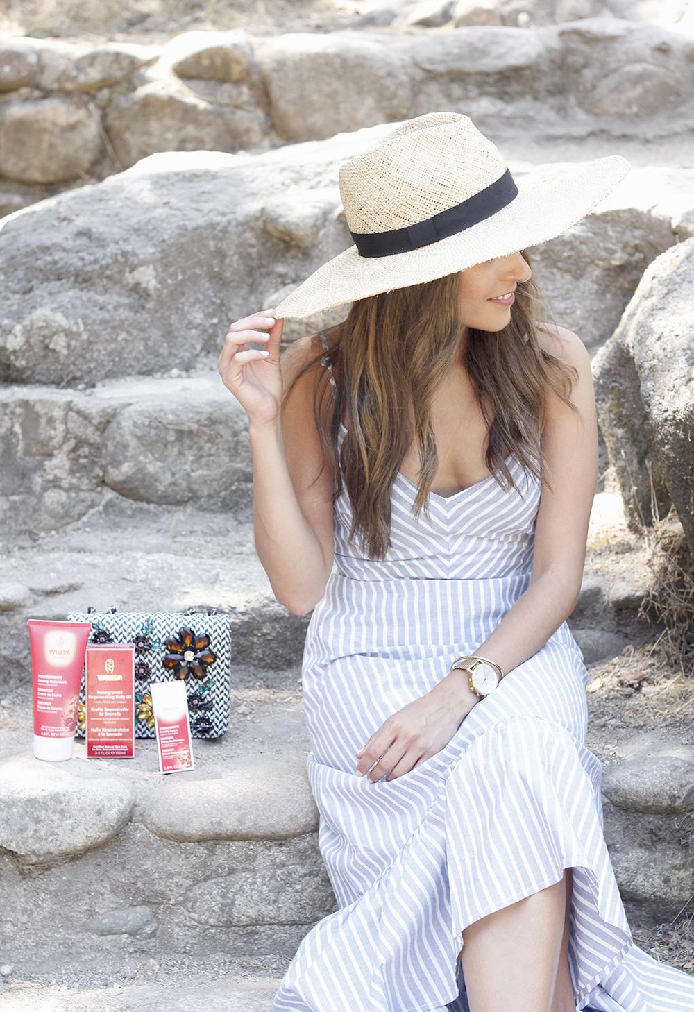 Weleda Granada belleza hidratante corporal cuidados verano beauty skin2