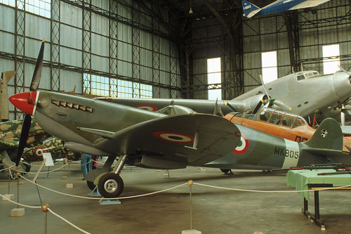 Supermarine Spitfire at the Italian Air Force Museum, 1993