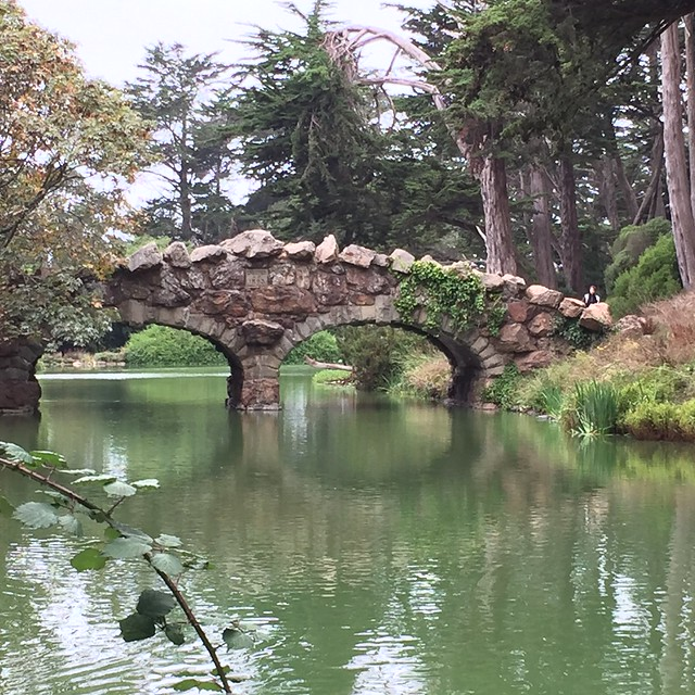 Stow Lake Bridge