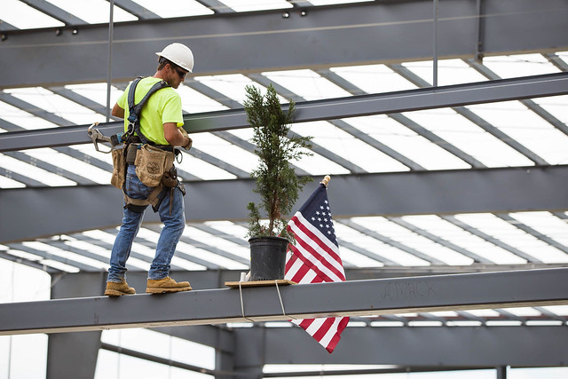 Multi-Sports Complex Topping Out Ceremony | 8/17/17