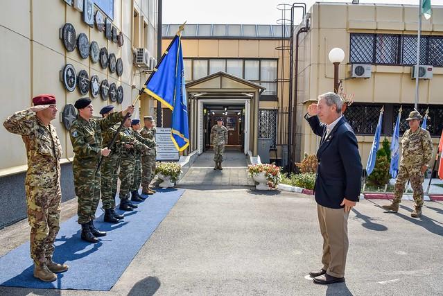 US Congressman of Massachusetts visits KFOR