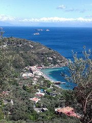 Marina del Cantone e i Galli