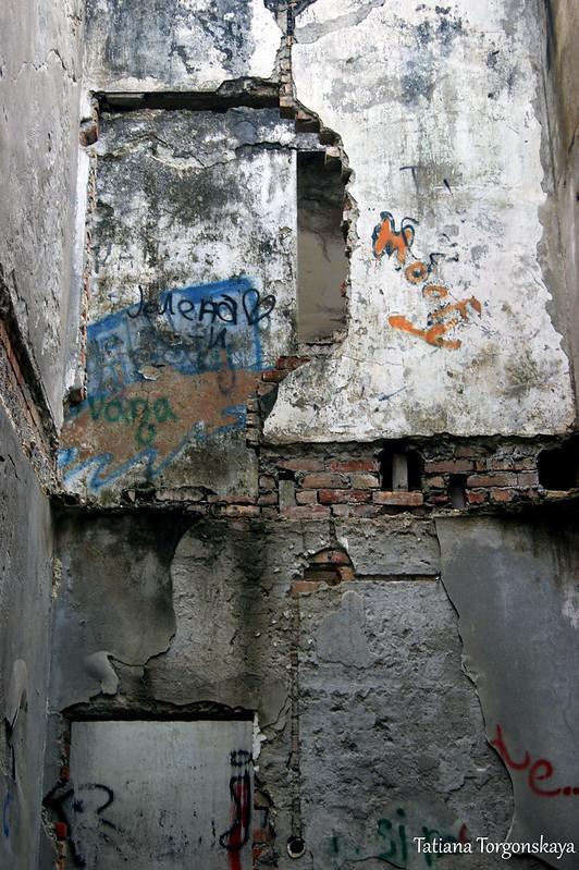 Стены в доме