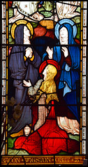 Three Marys at the empty tomb (Clayton & Bell, 1873)