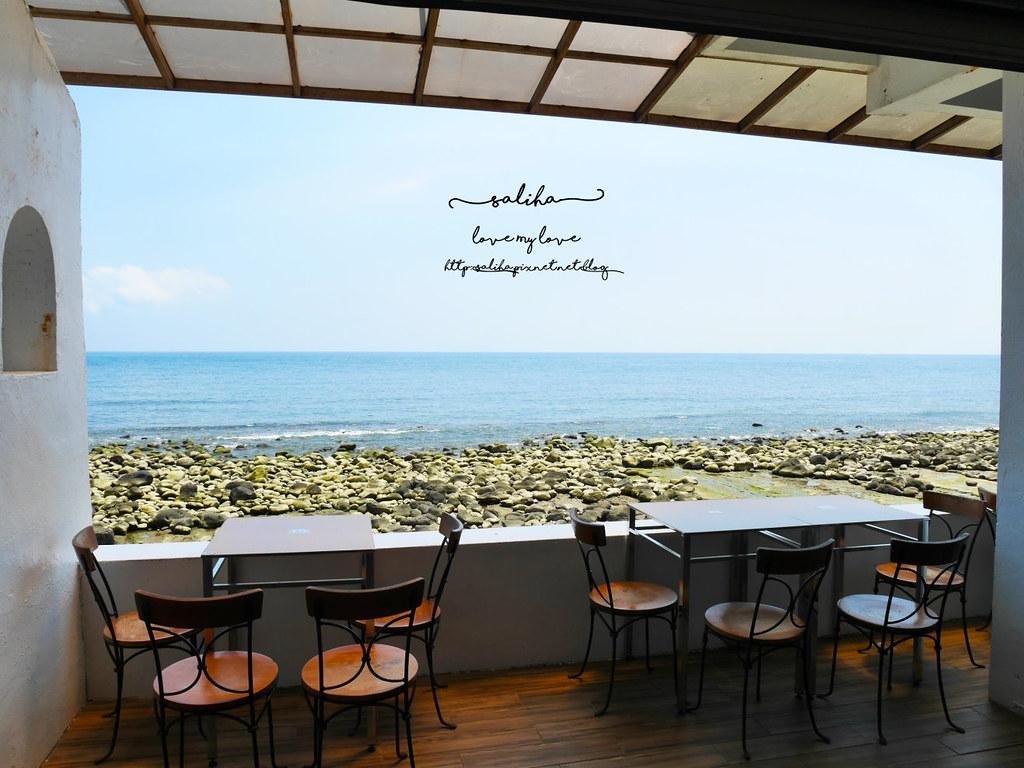 新北金山北海岸海景餐廳推薦洋荳子海邊咖啡館 (2)