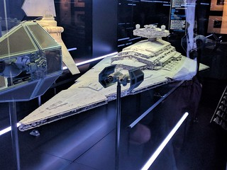 Star Destroyer Model and Imperial Ships