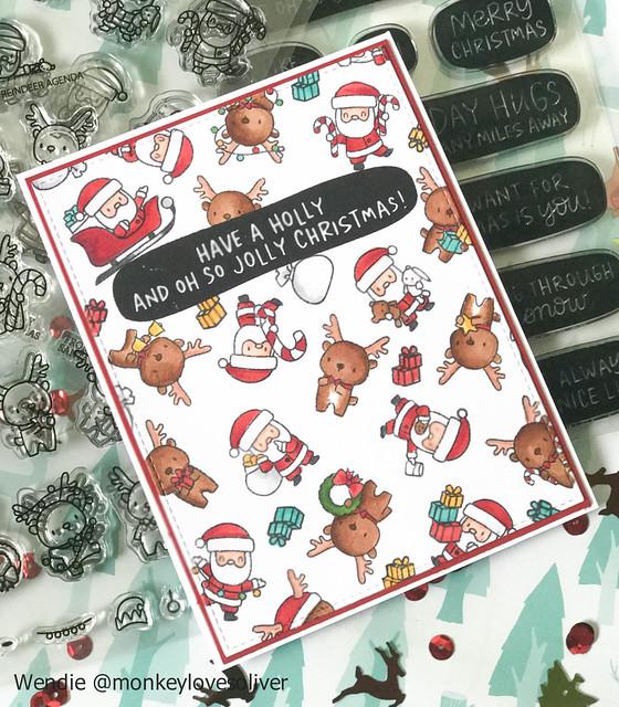 Little Santa and Reindeer Agendas