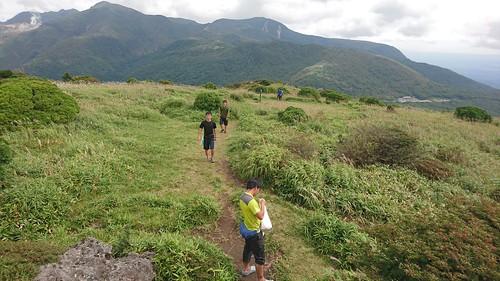 峠から軽登山