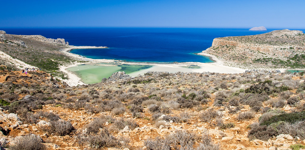 Balos Landscape - Crete, Greece