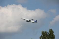 Air Astana Airbus A321-100 P4-NAS , Schiphol airport 03.09.2017