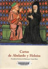 Carme Riera, Cartas de Abelardo y Heloísa