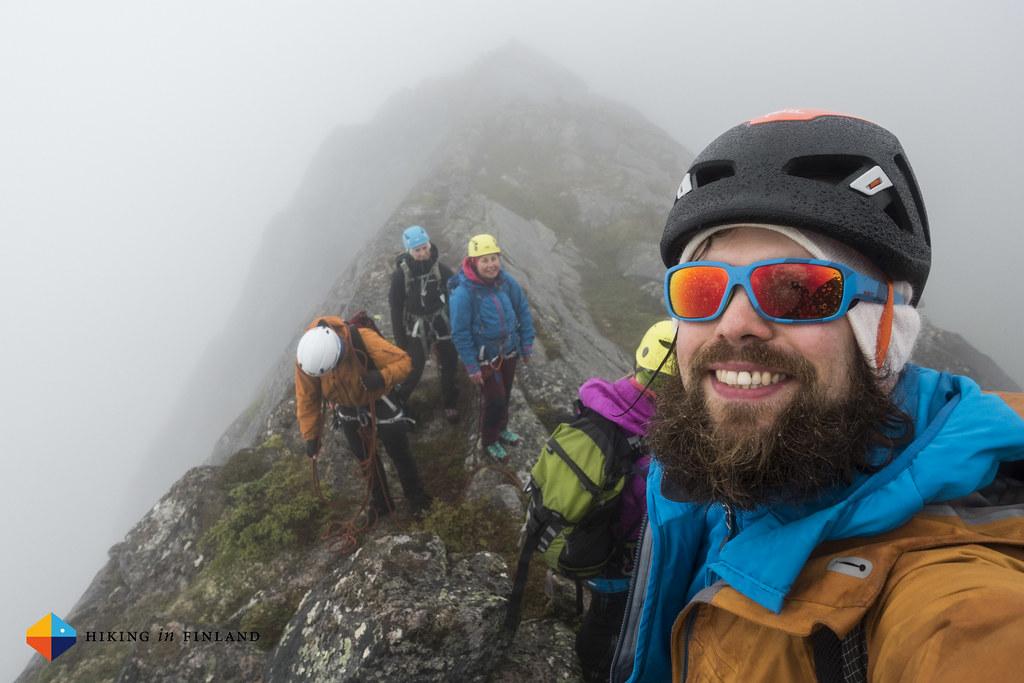 "Happy ""hiking"" on the Nordskottraversen"