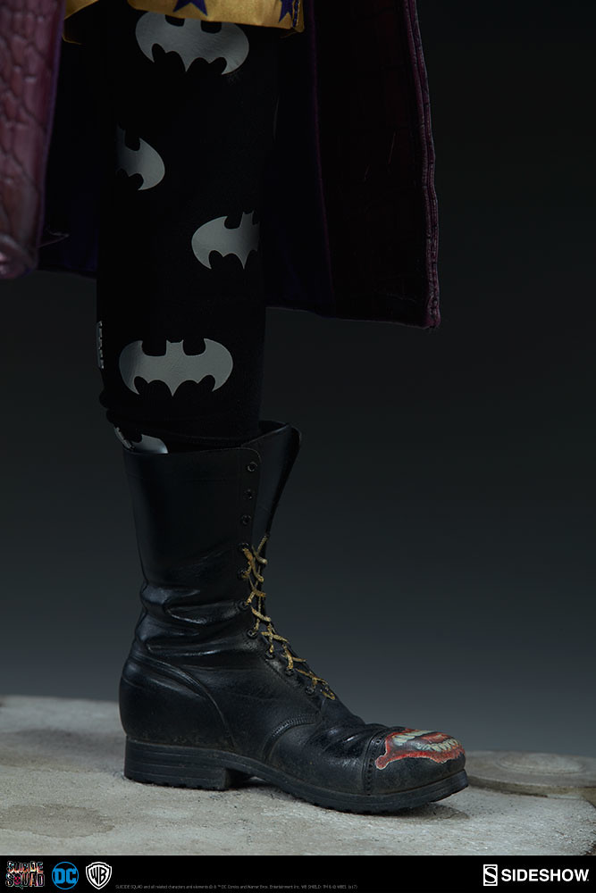 Hahahaha!!!Sideshow Collectibles 自殺突擊隊【小丑】Suicide Squad The Joker 1/4 比例全身雕像作品