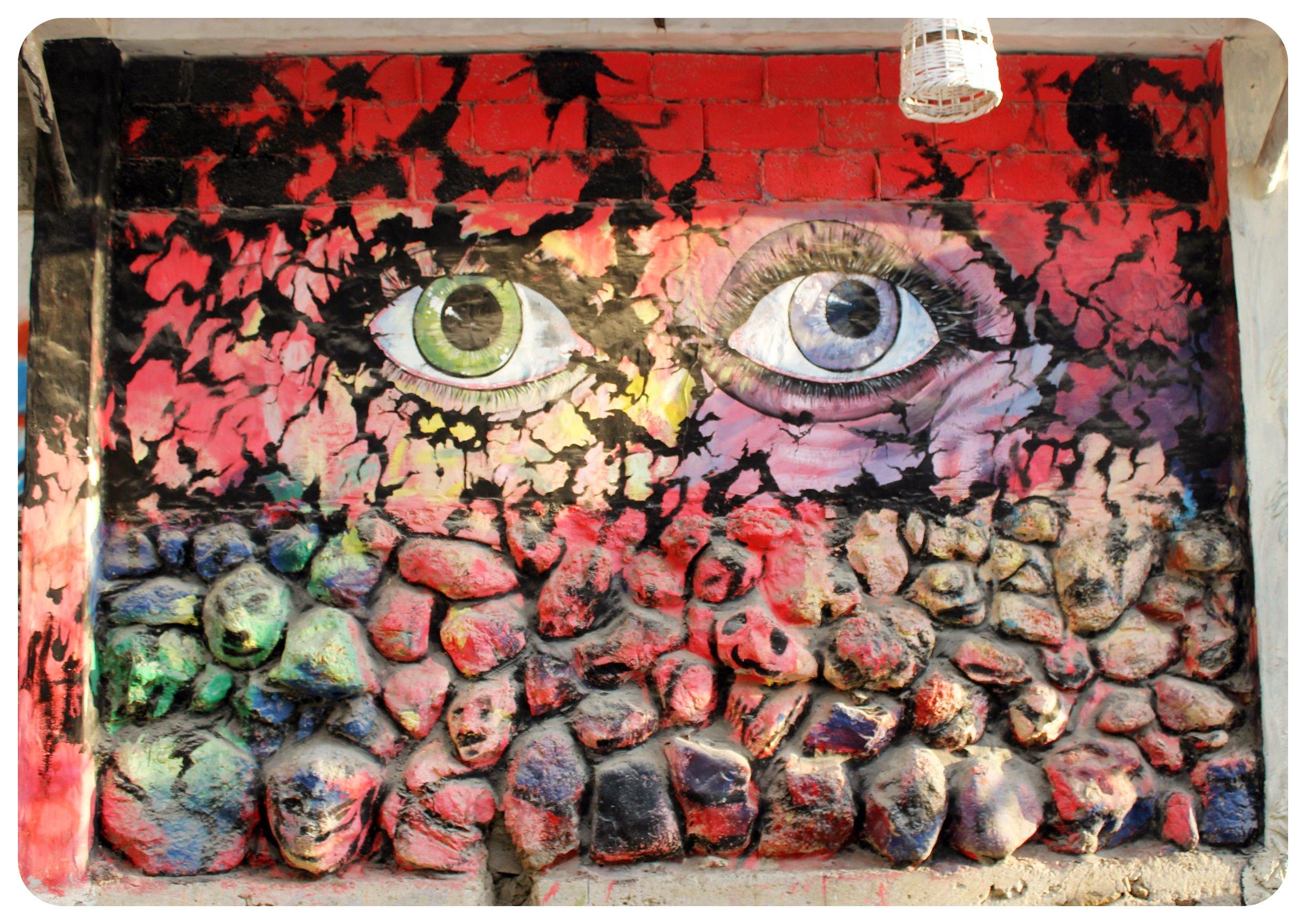montanita street art