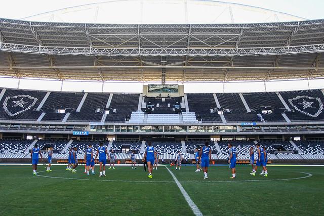 Treino Grêmio no Rio de Janeiro 12/09/17