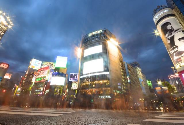 japan itinerary travel guide shibuya crossing