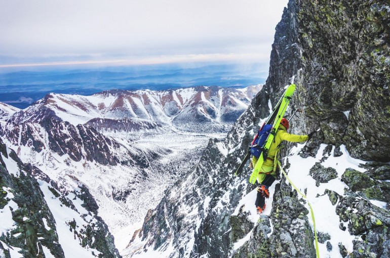 NEW AGE - ski mountaineering traverse of Tatry in Slovakia