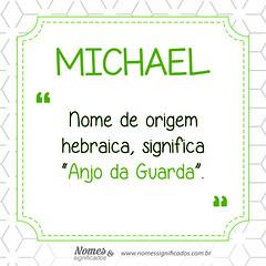 Significado do nome Michael