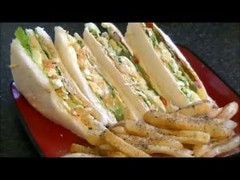 CHICKEN & EGG CLUB SANDWICH *COOK WITH FAIZA*