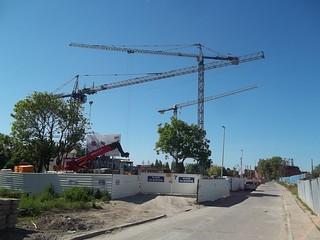 Muzeum II Wojny Światowej w Gdańsku - budowa - in construction - Polska Poland