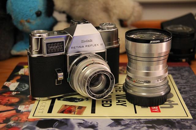 Camera of the Day - Retina Reflex III (Early) Wearing Retina-Tele-Arton f:4/85mm