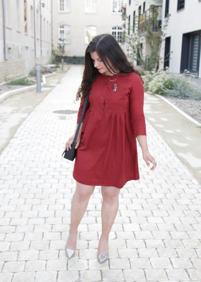 comment_porter_robe_couleur_rouille_conseils_blog_mode_la_rochelle_5