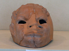 Terracotta mask in the form of an African man, Aphrodisias