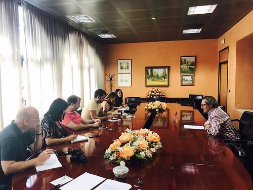 Rueda de prensa de junta de gobierno local del Ayuntamiento de Dos Hermanas