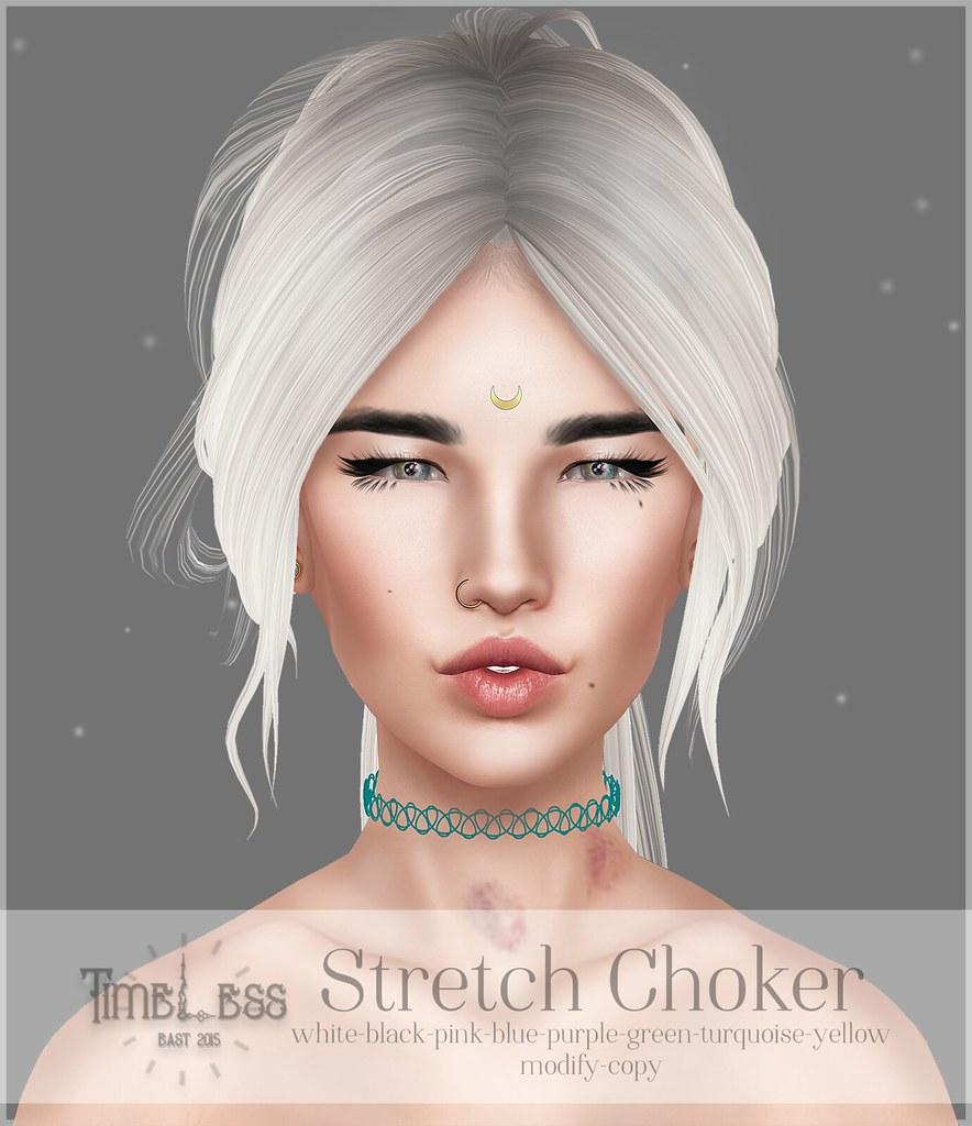 Timeless - Stretch Choker - TeleportHub.com Live!