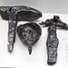 Museo de Segovia yunque crisol y martillo de hierro yacimiento de Coca 16