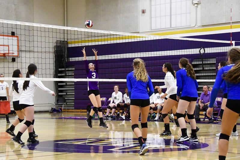 Girls volleyball vs Los Altos HS